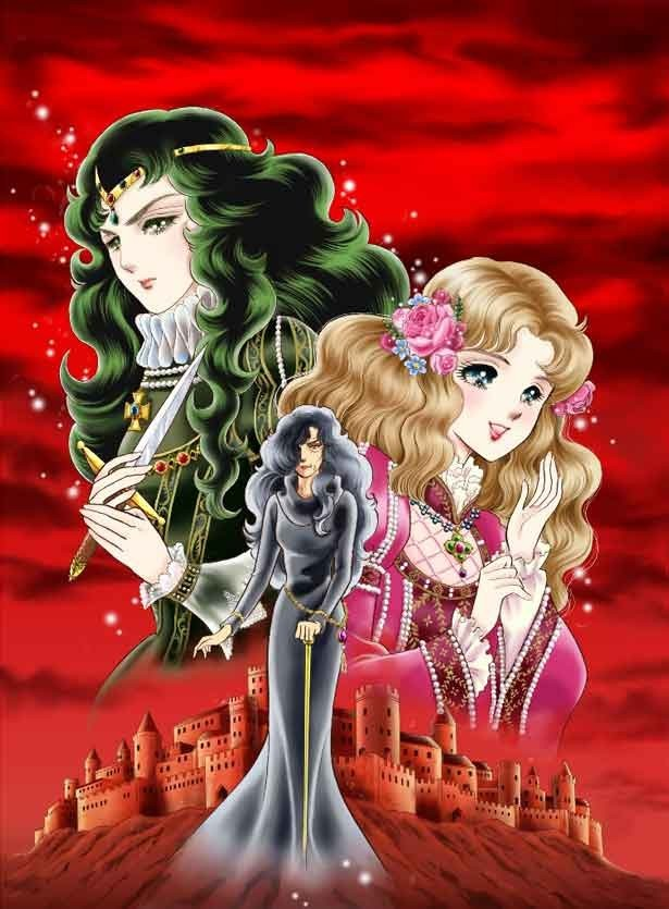 Image result for 二人の王女 ガラスの仮面