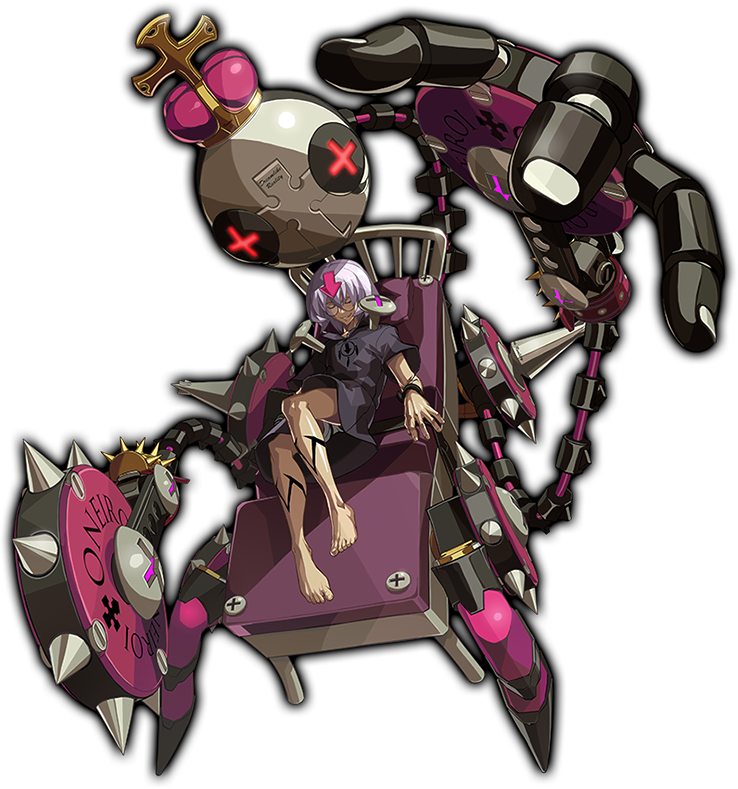 Guilty Gear Xrd: Rev 2 - Character Color: Eclipse 2017 pc game Img-3
