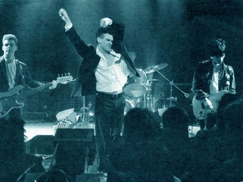 Smiths onstage oxford85
