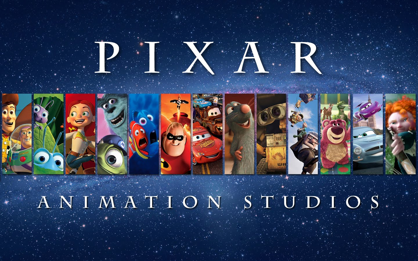 Eye catch pixar studios