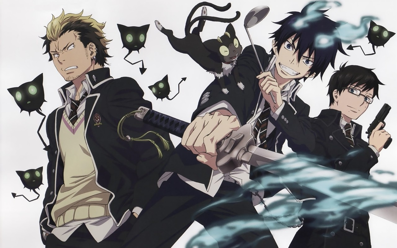 Anime wallpaper ao no exorcist 188393004