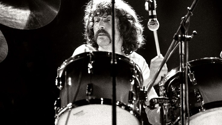 Nick mason pink floyd doing it drum solo 735x413