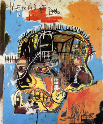 Untitled acrylic and mixed media on canvas by   jean michel basquiat   2c 1984