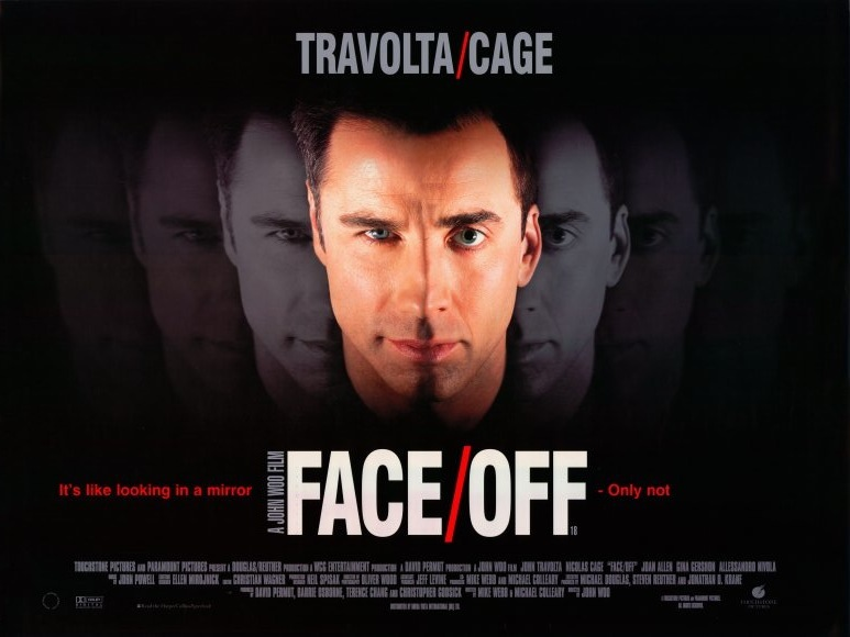 Face off movie poster 1997 10203397541