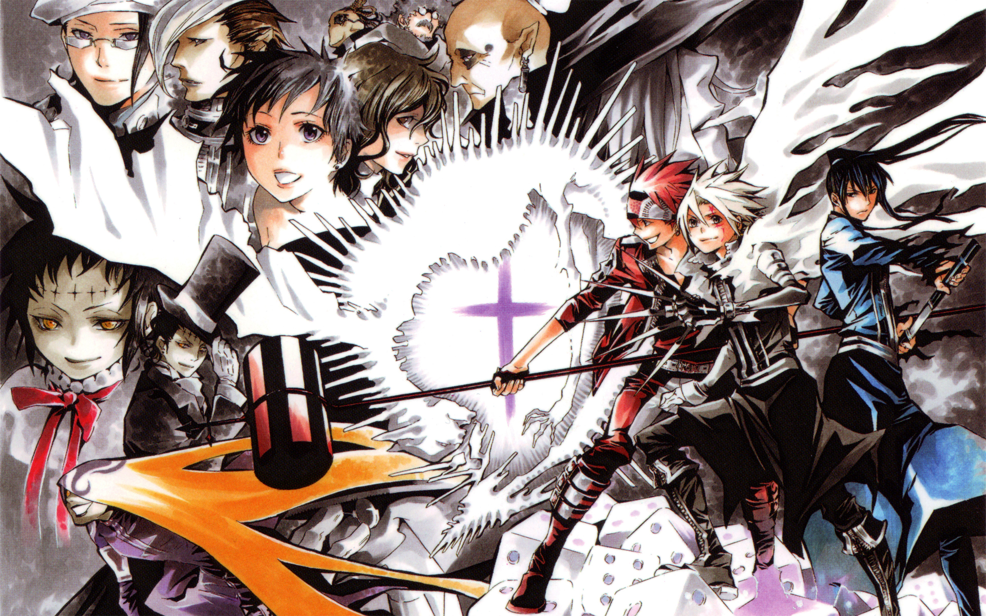 D gray man renote - D gray man images ...