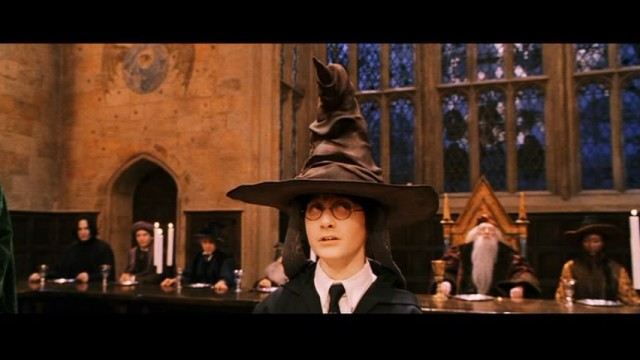 Harry potter sorting hat 640x360