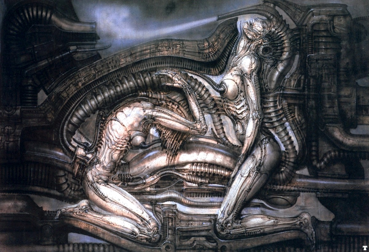 The work of hr giger