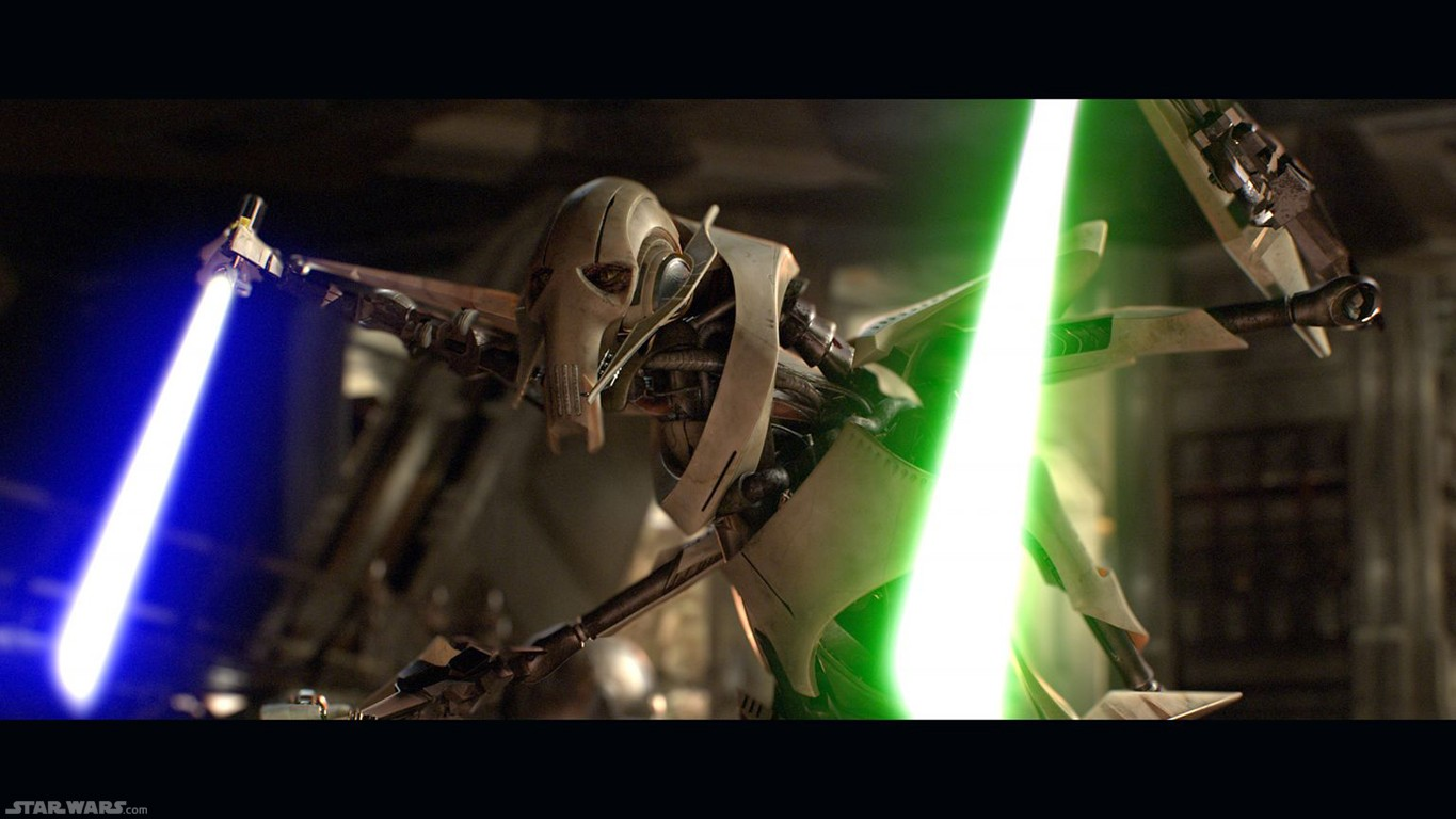 Episode 3 general grievous lightsabers 2