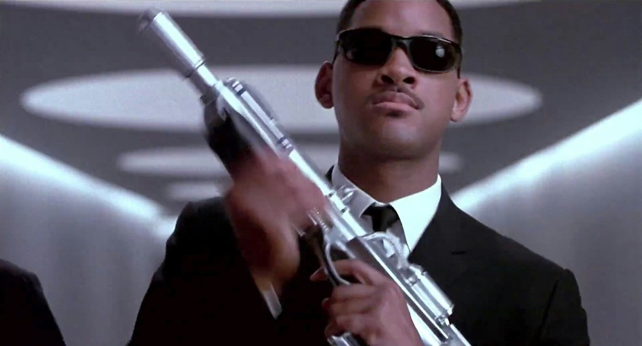 Will smith as agent j in men in black 1997  1