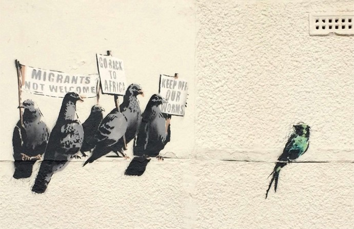 20 banksy graffiti allowed clacton 29301 690x447
