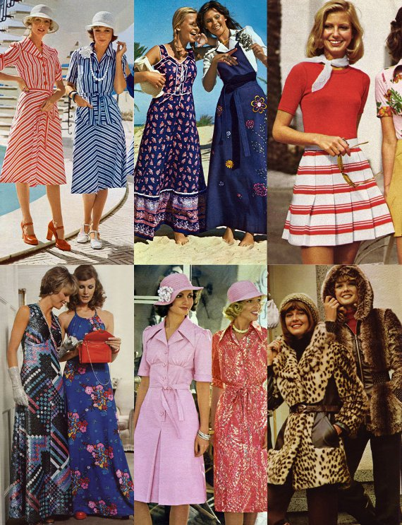 Womens fashion trends from the 70s