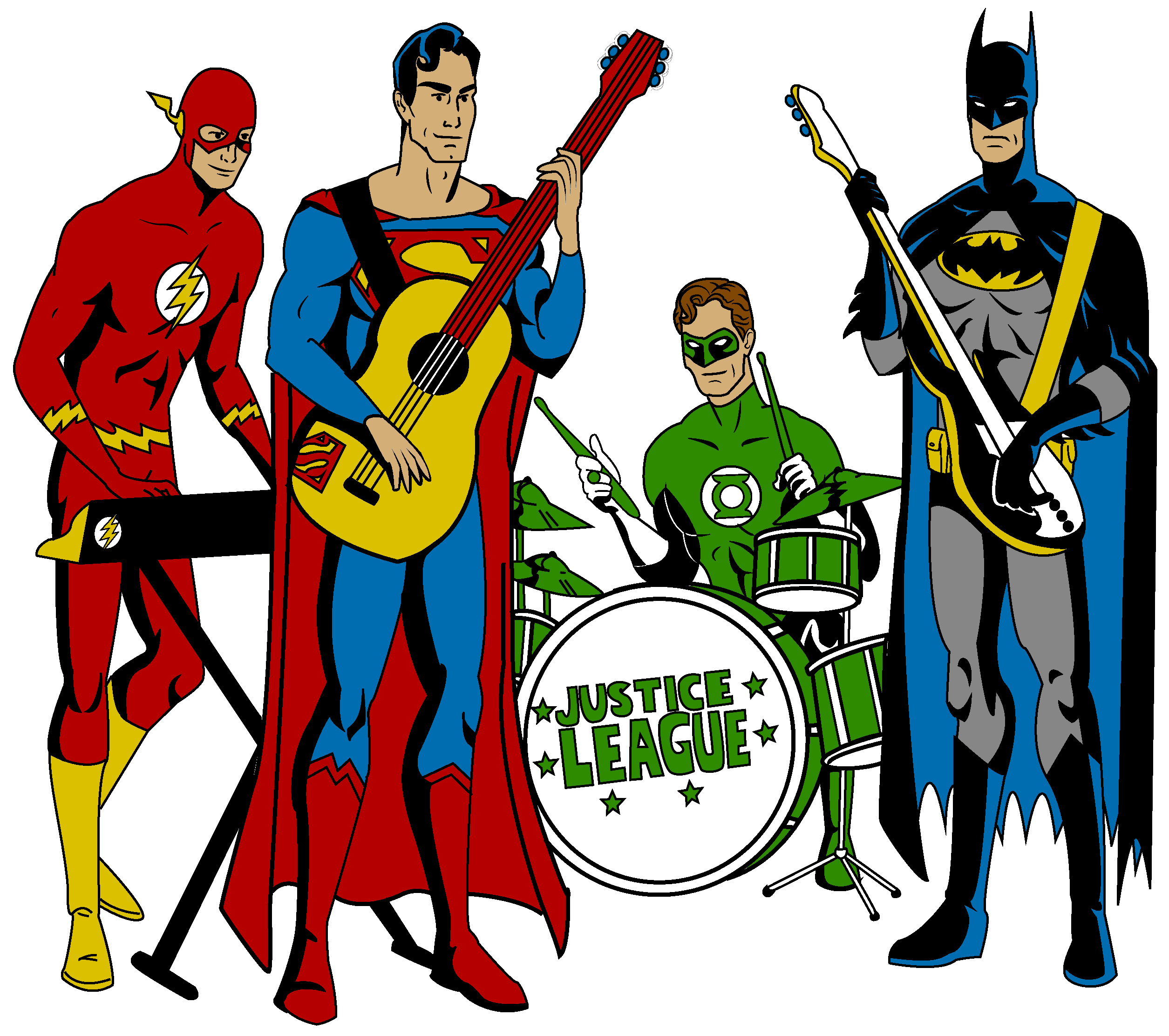 2051057 justice league band 2