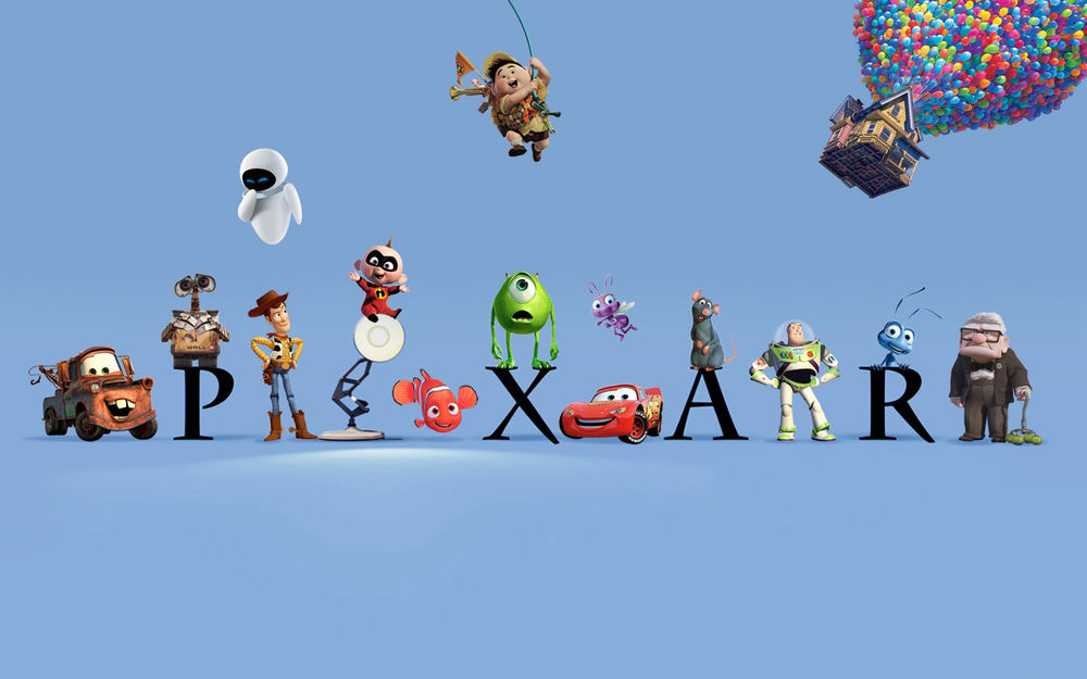 Eye catch pixarlogo