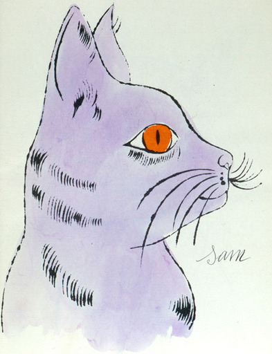 Birthday warhol second cat1