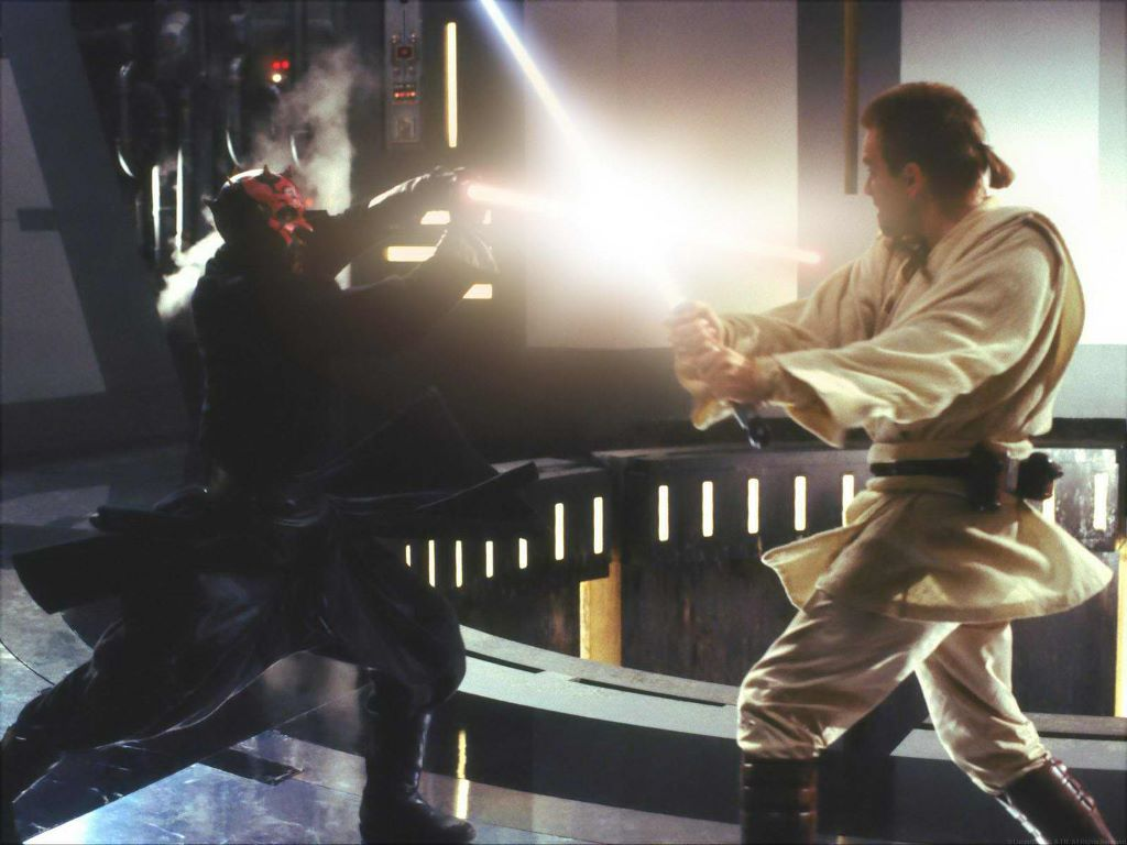 Darth maul vs obi wan kenobi
